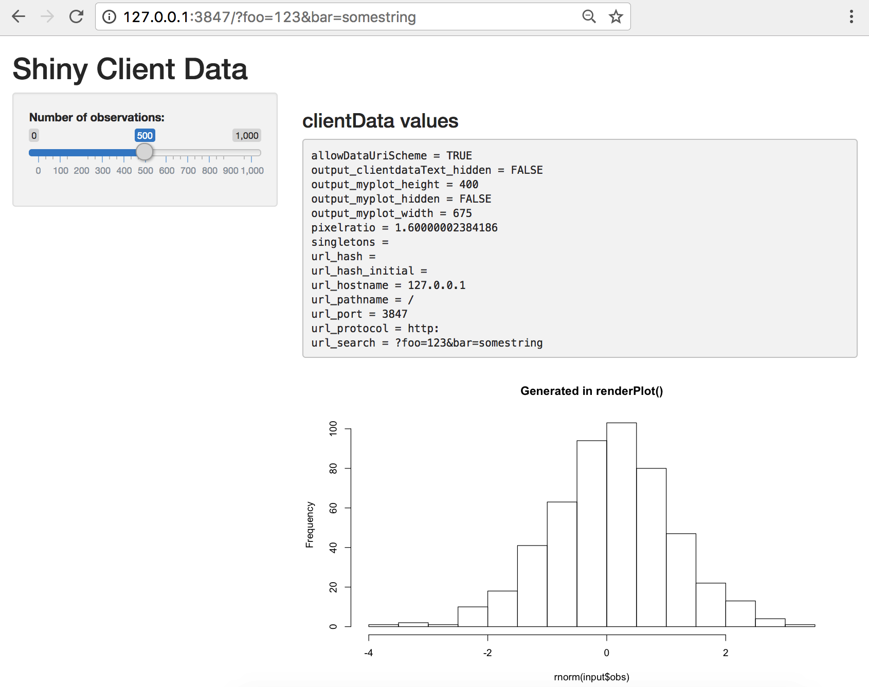Shiny - Learn about your user with session$clientData